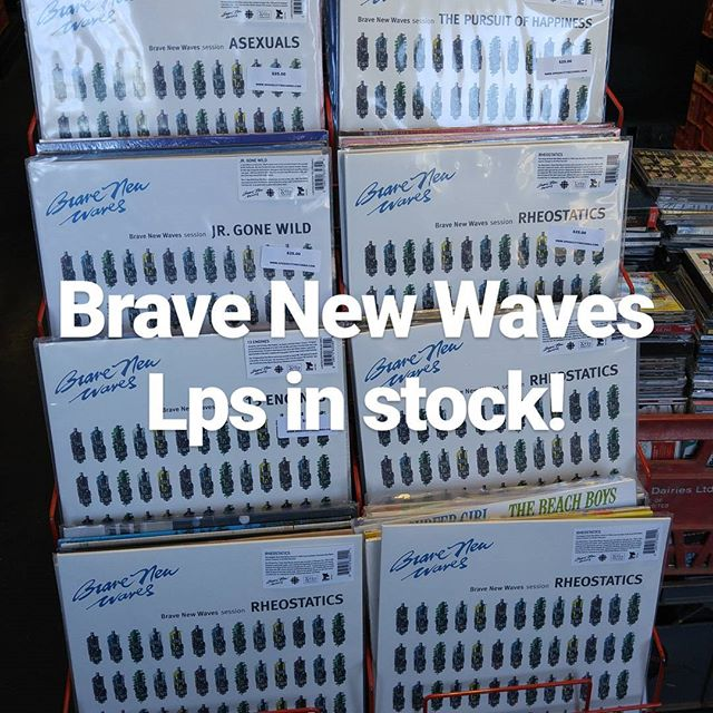 Brave New Waves Lps in stock! #speedcityrecords #cbc #vinyl